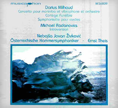 "CD ""Marimba/Vibraphone Concerto"""