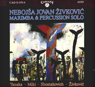 "CD ""Marimba & Percussion"""