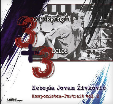 "CD ""3 concertos + 3 solos"" Composers portrait, Volume 2"