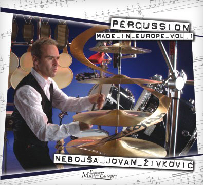 "CD ""Percussion made in Europe"" Volume 1"